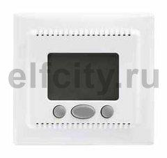 Термостат електронный, с выносным датчиком для электрического подогрева пола 230 В~ 8А, белый