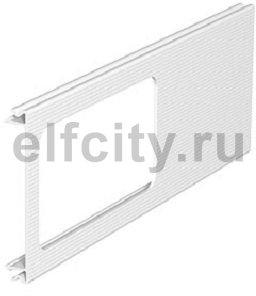 Приборная накладка для монтажа устройств 110x300 мм (ПВХ,белый)