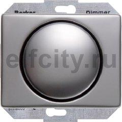 Диммер (светорегулятор) поворотный 60-400 Вт для ламп накаливания и галогенных 220В, нержавеющая сталь