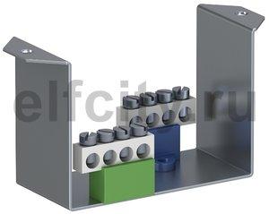 Суппорт для монтажа модульных устройств (с клеммниками) в блок VHF (сталь)