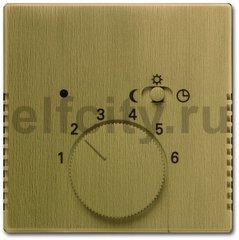 Плата центральная (накладка) для механизма терморегулятора (термостата) 1095 U, 1096 U, серия Династия, Латунь античная