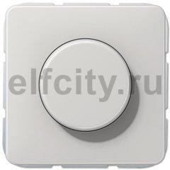 Диммер (светорегулятор) поворотный 20-525 Вт для ламп накаливания и галогенных 220В, светло-серый