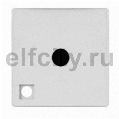 Поворотный выключатель промежуточный, с подсветкой, цвет: светлый хром