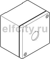 Корпус кнопочного поста KEM1-0 металлический на 1 элемент