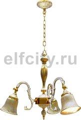 Люстра - Milazzo II, цвет: золото, белая патина