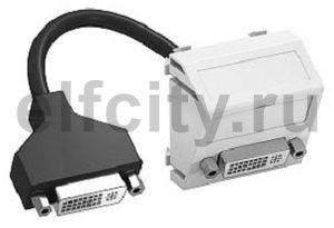 Мультимедийная рамка DVI Modul45 (черный)
