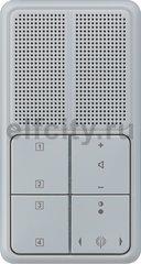 Радиоприемник скрытого монтажа с RDS с динамиком, серый