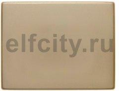 Клавиша цвет: золотой, металл Berker Arsys