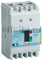 Автоматический выключатель DPX? 160 - термомагнитный расцепитель - 16 кА - 400 В~ - 3П - 16 А