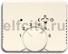 Плата центральная (накладка) для механизма терморегулятора (термостата) 1095 U, 1096 U, серия alpha nea, цвет слоновая кость