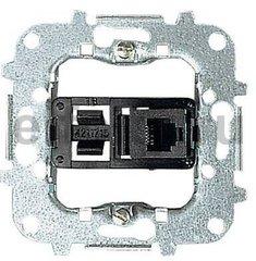Розетка телекоммуникационная на 4 контакта, тип RJ11