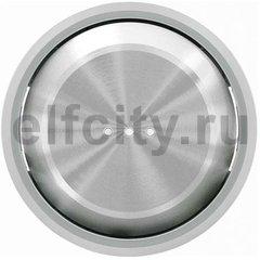 Клавиша для 1-клавишных выключателей/переключателей/кнопок с линзой подсветки, серия SKY Moon, кольцо хром