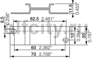 Адаптер ADP.01 для винтового монтажа реле CM-S