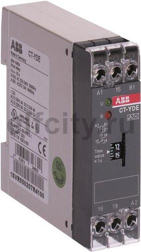Реле времени CT-YDE (задержка на включ., переключение Y/D) 110-1 30В AC (временной диапазон 3..300с.) 1ПК
