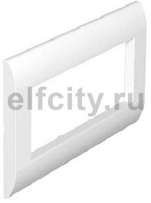 Декоративная рамка S990 для боксов Telitank тройная (белый)