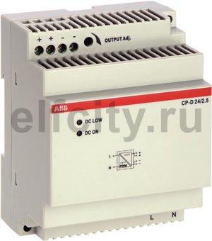 Блок питания CP-D 24/2.5 (регулир. вых. напряж) вход 90-265В AC / 120-370В DC, выход 24В DC /2.5A