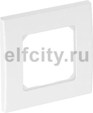 Рамка одинарная для устройств 50 мм 84x84 мм (белый)