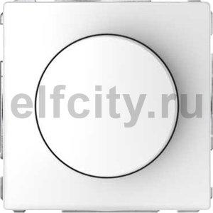 Диммер (светорегулятор) поворотно-нажимной 60-400 Вт для ламп накаливания и галогенных 220В, белый лотос