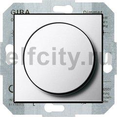 Диммер (светорегулятор) поворотный 60-400 Вт для ламп накаливания и галогенных 220В, хром