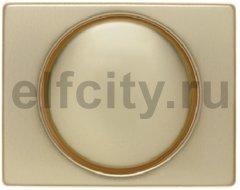 Центральная панель с регулирующей кнопкой для поворотного диммера цвет: золотой, металл Berker Arsys