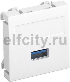 Мультимедийная рамка USB 3.0 A Modul45 (белый)
