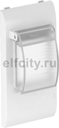 Декоративная рамка Modalnet для установки модульных устройств (белый)
