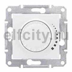 Диммер (светорегулятор) поворотный 25-325 Вт для ламп накаливания и галогенных 220В, белый