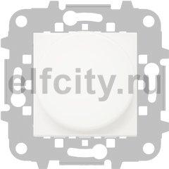Диммер (светорегулятор) поворотно-нажимной 60-500 Вт для ламп накаливания и галогенных 220В, белый