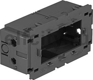 Монтажная коробка двойная Modul45 71GD13 (полиамид,серый)
