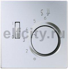 Термостат 230 В~ 10А с выносным датчиком, для электрического подогрева пола, алюминий