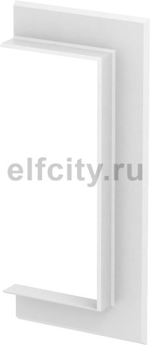 Настенная стыковая рамка кабельного канала Rapid 80 90x210 мм (ABS-пластик,белый)