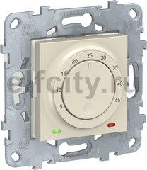 Термостат для электрического подогрева пола 244 В~ 8А , для электрического подогрева пола, бежевый
