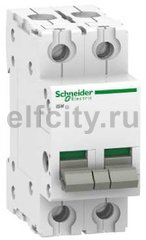Выключатель нагрузки (рубильник) iSW 2П 40A