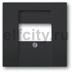 Плата центральная (накладка) для механизмов UAE/TAE, для 0247 и 0248, серия solo/future, цвет антрацит