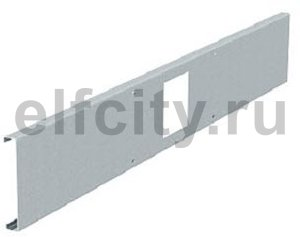 Приборная накладка для монтажа устройств 80x500 мм (сталь,белый)