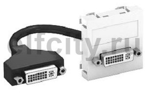 Мультимедийная рамка DVI Modul45 (серебристый)