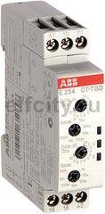Реле времени CT-TGD.12 модульное (генератор импульсов) 24-48B DC, 24- 240B AC (7 временных диапазонов 0,05с...100ч) 1ПК