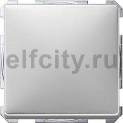 Выключатель одноклавишный, 10 А / 250 В, нержавеющая сталь