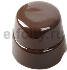 Распаечная коробка D60 коричневая