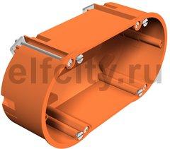 Монтажная коробка для полых стен двойная, HG 60 2, 138x68x50