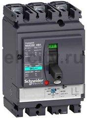 Автоматический выключатель 3П MA12,5 NSX100HB1 (75кА при 690B)