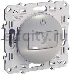 Автоматический выключатель 230 В~ , 40-2300Вт, трехпроводное подключение, монтаж-1,2м; алюминий