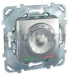 Термостат механический, с выносным датчиком для электрического подогрева пола 230 В~ 8А, пластик под алюминий