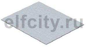 Заглушка монтажного основания прямоугольная для GES6 258x205x3 мм (сталь)