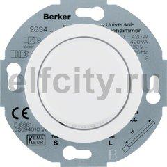Диммер (светорегулятор) поворотный 50-420 Вт для ламп накаливания и галогенных 220В, с мягкой регулировкой, полярная белизна
