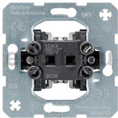 Механизм проходного одноклавишного выключателя 10 А, 250 В