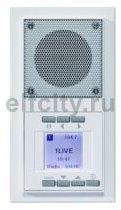 Радиоприемник, моно/стерео радио RDS, будильник, часы, запоминает 6-ть FM станций, компектуется рамкой, пластик белый