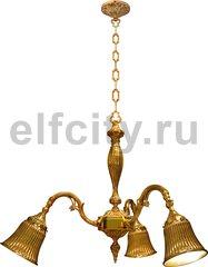 Люстра - Milazzo I, цвет: светлое золото