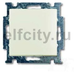 Выключатель одноклавишный, 10 А / 250 В, шале-белый