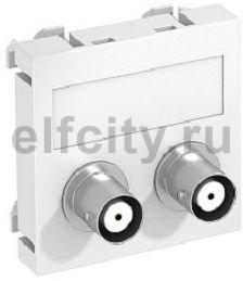 Мультимедийная рамка Audio-BNC Modul45 (черный)